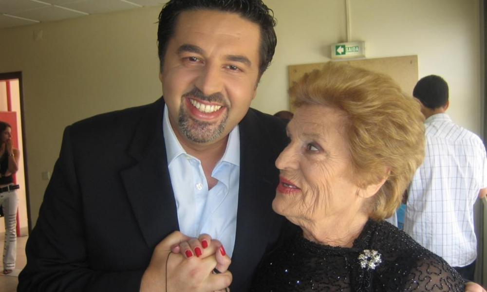 José Carlos Malato despede-se da irmã de Amália Rodrigues