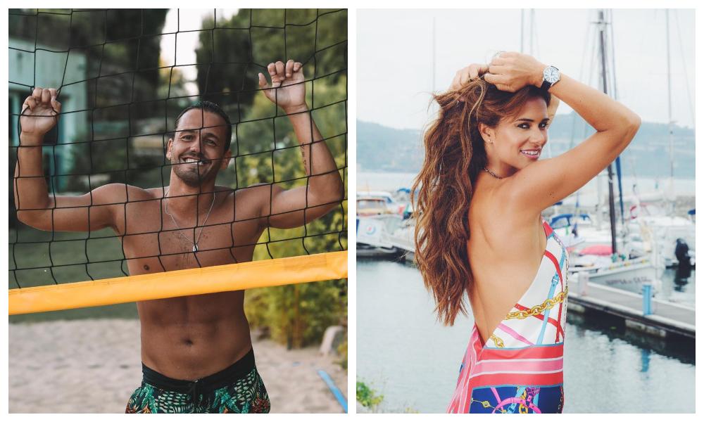 Pedro Teixeira e Cláudia Vieira competem nas redes sociais