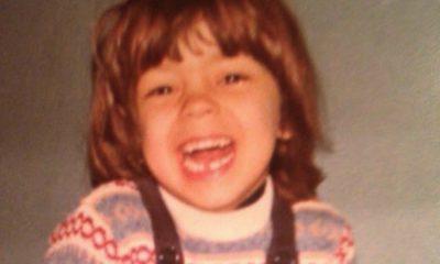 Rita Ferro Rodrigues em criança