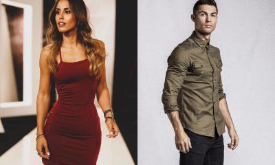 Carolina Patrocínio e Cristiano Ronaldo