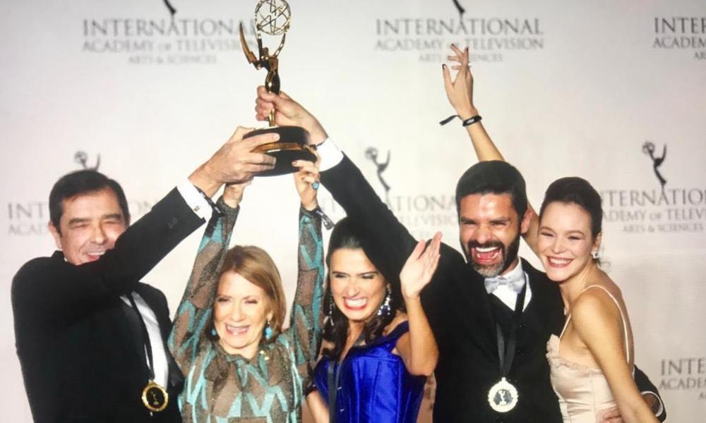 """""""Ouro Verde"""" ganha Emmy Internacional de Melhor Novela"""