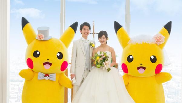 casamentos Pokemon